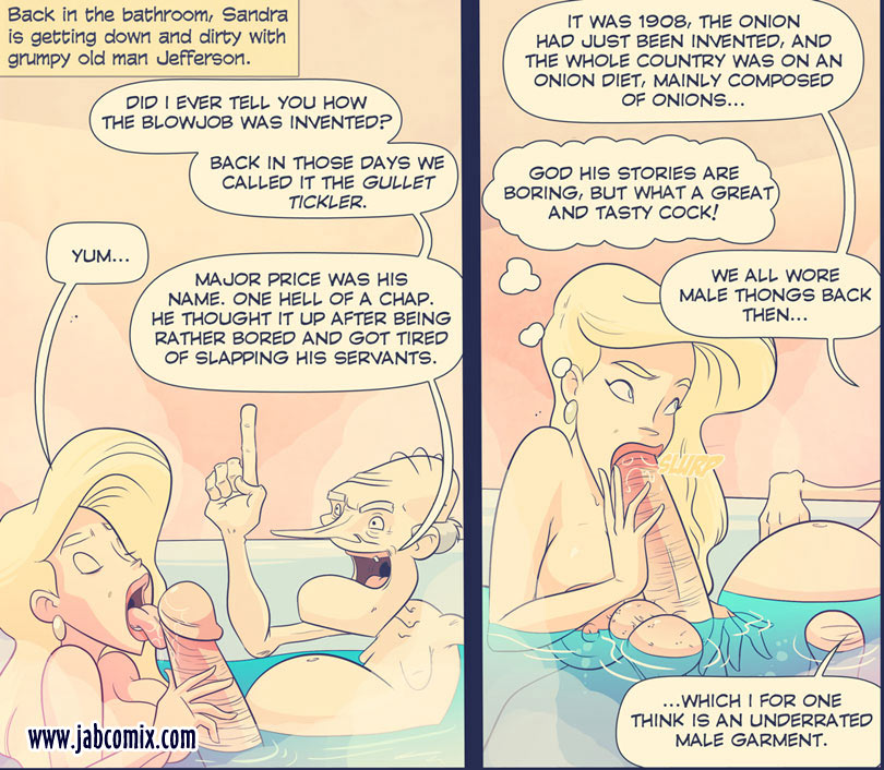 Old man sex comics